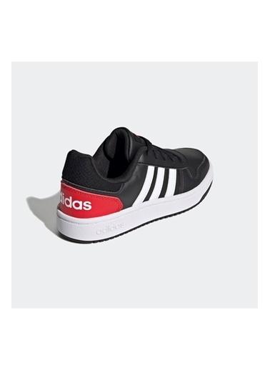 adidas Adidas Erkek Çocuk Günlük Spor Ayakkabı Hoops 2.0 K Fy7015 Siyah
